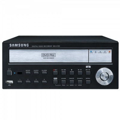 Samsung SRD-470D 4 CHANNEL DVR Mobile 1TB HDD DIGITAL Video Recorder CCTV Camera DVD
