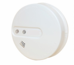 Combined Smoke & Heat Detector Mains Powered Grade D Wireless Interlinked Detector BS5839