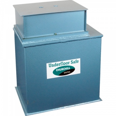 Churchill Bulldog CBS12 - 63Ltr Under Floor Safe VDS Class 1 Key £6K/£60K