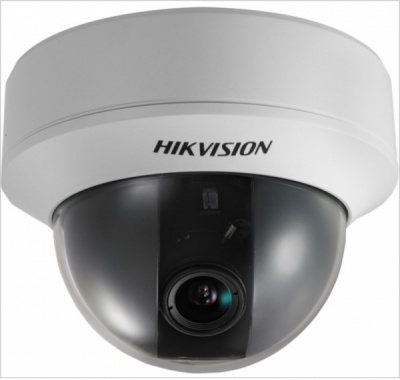 Hikvision DS-2CE55A2P-VF 700 TVL Varifocal 2.8-12mm Day/Night Indoor Dome CCTV