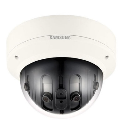 Samsung PNM-9020V 7.3MP Multi-sensor 180˚ Panoramic Outdoor CCTV Camera 3.6mm