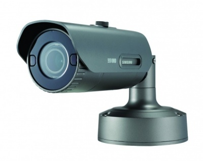 Samsung PNO-9080R 4K UHD 12MP Outdoor Weatherproof IR Network Bullet CCTV Camera