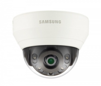 Samsung QND-6010RP 2MP Full HD 1080p 2.8mm Lens Dome CCTV Camera IR LDC Indoor