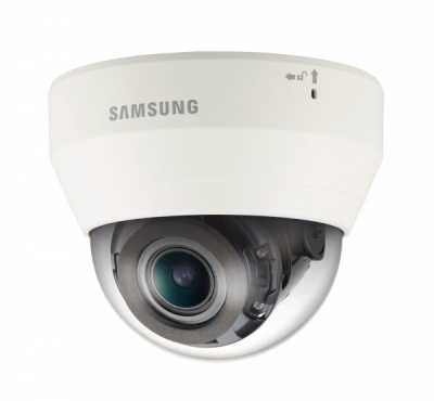 Samsung QND-7080R 4MP HD Indoor IP Network IR LED PoE Varifocal Dome CCTV Camera
