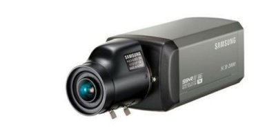 Samsung SCB-2000PH Mains Voltage CCTV High Resolution 600TVL 220-240V Box Camera