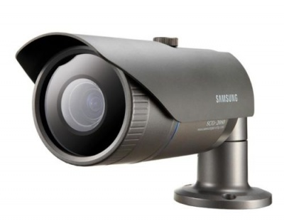 Samsung SCO-2080P 1/3'' High Resolution Colour Varifocal Lens Bullet CCTV Camera