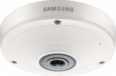 Samsung SNF-8010P 5MP HD Fisheye Internal CCTV IP PoE Dome Camera Digital PTZ
