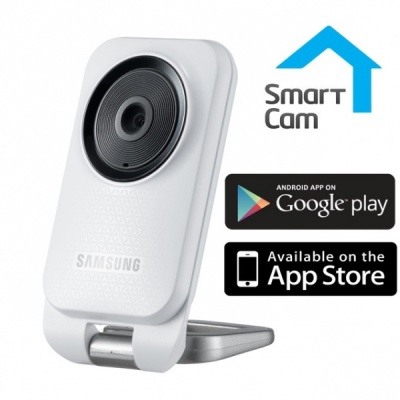 Samsung SNH-V6110BN SmartCam HD 1080p Mini Indoor Camera Two-Way Talk Motion Audio Detection App