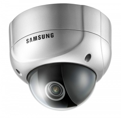 Samsung SVD-4300 High Resolution Day/Night In/Outdoor Vandalproof IP66 CCTV Dome Camera