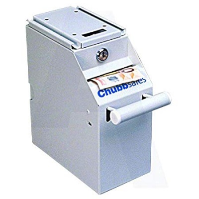 CHUBBSAFES Counter Unit Deposit Safe 350 Banknotes Capacity