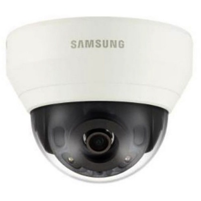Samsung Q Series 4MP Vandal-Resistant IR Dome Camera 2.8, 3.6, 6mm Lens Options