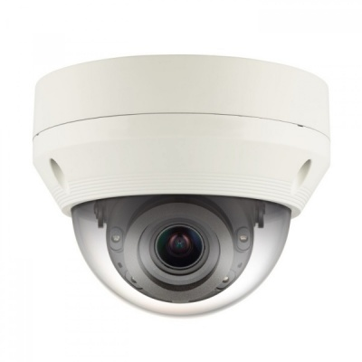Samsung Hanwha QNV-6070R 2MP IP Full HD In/Outdoor PoE IR LED Dome CCTV Camera