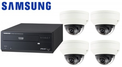 Samsung CCTV Security 4 Camera Kit for Boats, Ferries & Ships