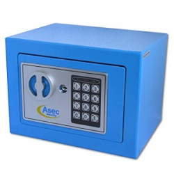 Asec AS10489 Compact Digital/Electronic Keypad PIN Safe with £1K/10K