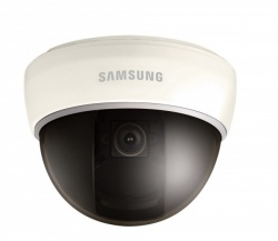 SAMSUNG SCD-2040P 1/3'' 600TVL 8MM FIXED LENS COLOUR/MONO DOME 12VDC/24VAC CAMERA