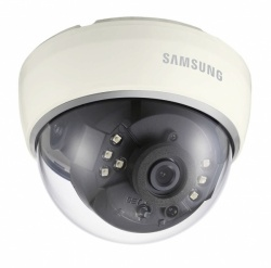 SAMSUNG SCD-2042RP HIGH RESOLUTION IR DOME 1/3'' 700TVL 8MM FIXED LENS DAY/NIGHT