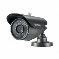 Samsung SCO-2040R Compact High Resolution 650TVL IR Bullet CCTV Camera 8mm Lens