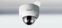 SAMSUNG 1/3'' SVD-4120A VANDAL-PROOF HIGH RES COLOUR SECURITY DOME CCTV CAMERA