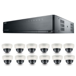 Samsung 16Channel PoE NVR 3tb With 12 CCTV Cameras 3yr Warranty FREE CCTV SIGN