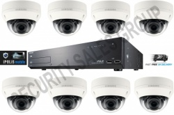 Samsung CCTV Kit 1x 16 Channel NVR 1TB + 8x HD IP Vandal Proof CCTV Cameras