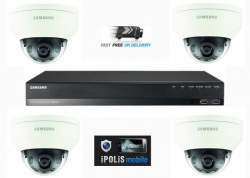 Samsung 2MP HD 4 Channel 4 Camera CCTV Home Business Security Kit System 1TB HDD