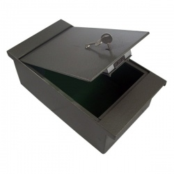ASEC AS6000 Key Operated Floorboard Safe 10KG £1K Cash Rating Heavy Gauge Steel