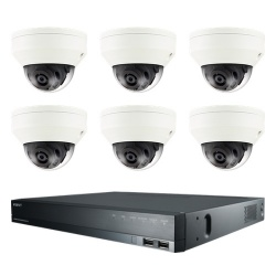 Samsung CCTV Security 6 Camera Kit for Boats, Ferries & Ships