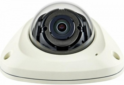 Samsung XNV-6012M 2MP Mobile Vandal-Resistant Vibration-Resistant Flat Dome CCTV Camera 1080p HD